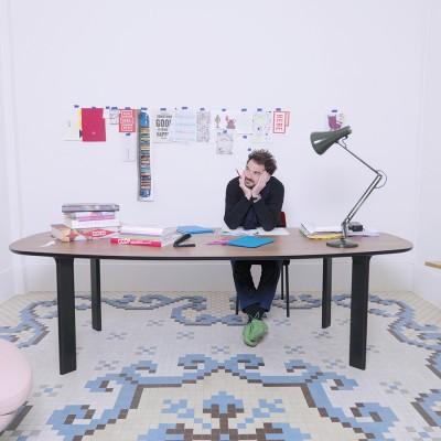 Analog Table for Fritz Hansen