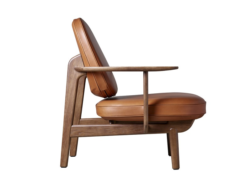JH97  Lounge Chair - Leather