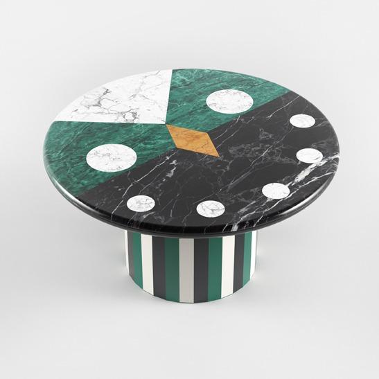 Niko Niko table green