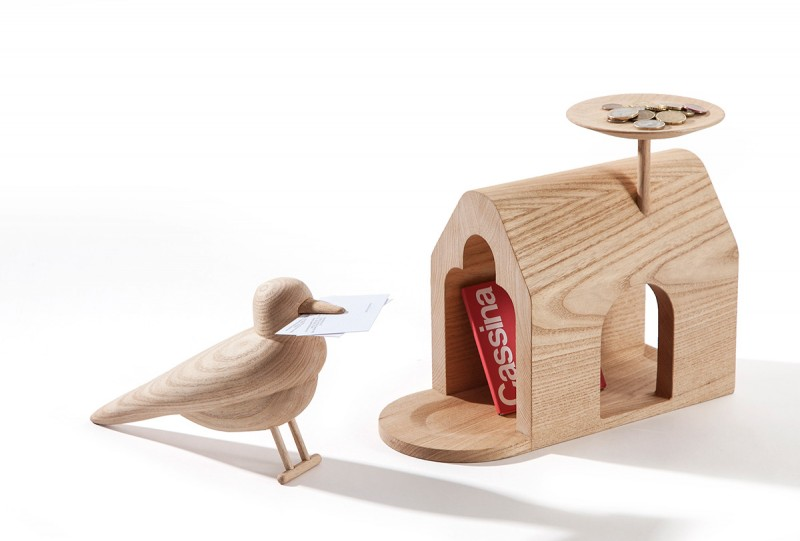 Villa Le Lac Paulownia, The Bird and The Birdhouse for Cassina