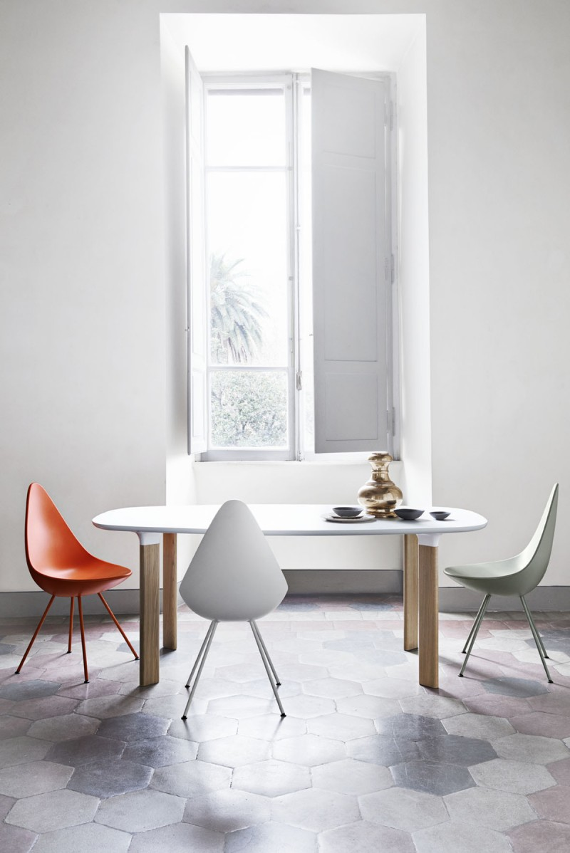 Analog Table for Fritz Hansen 3