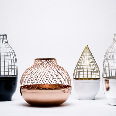 Grid Vase Collection Gaia & Gino 1