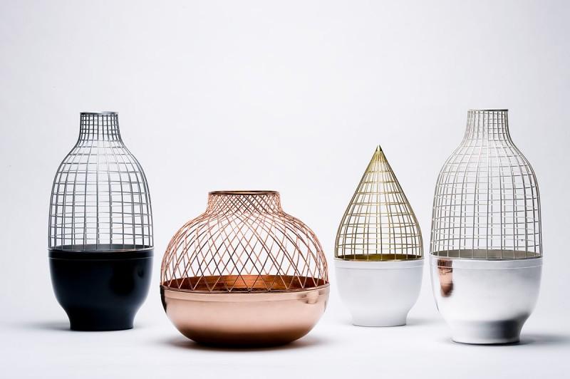 Grid Vase Collection Gaia & Gino