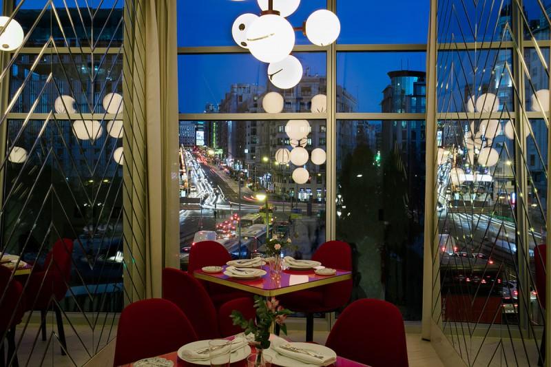 Hotel Barceló Torre de Madrid 19 Somos Restaurant