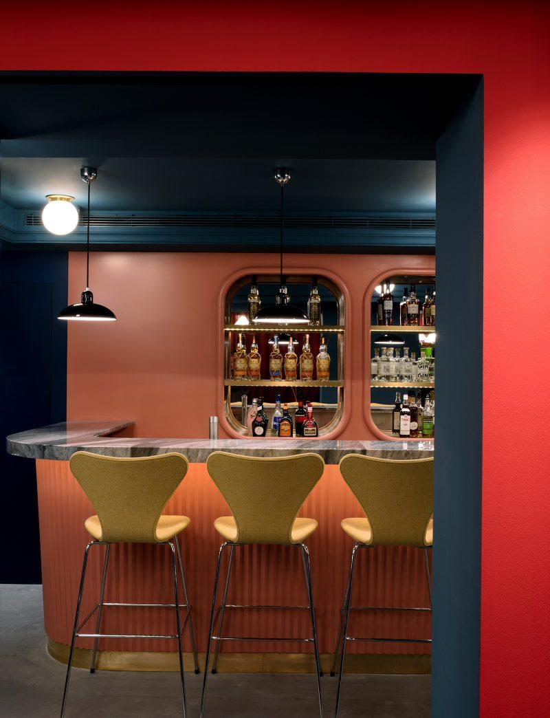 Fritz Hansen Lounge Club, Shanghai.