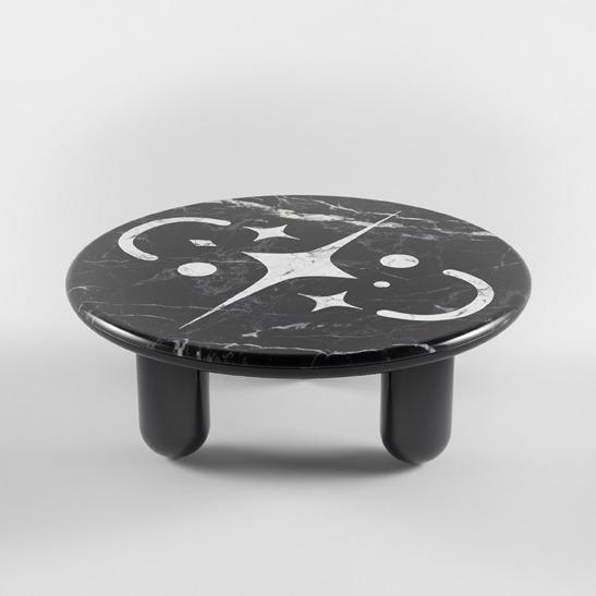 Hymy black coffee table