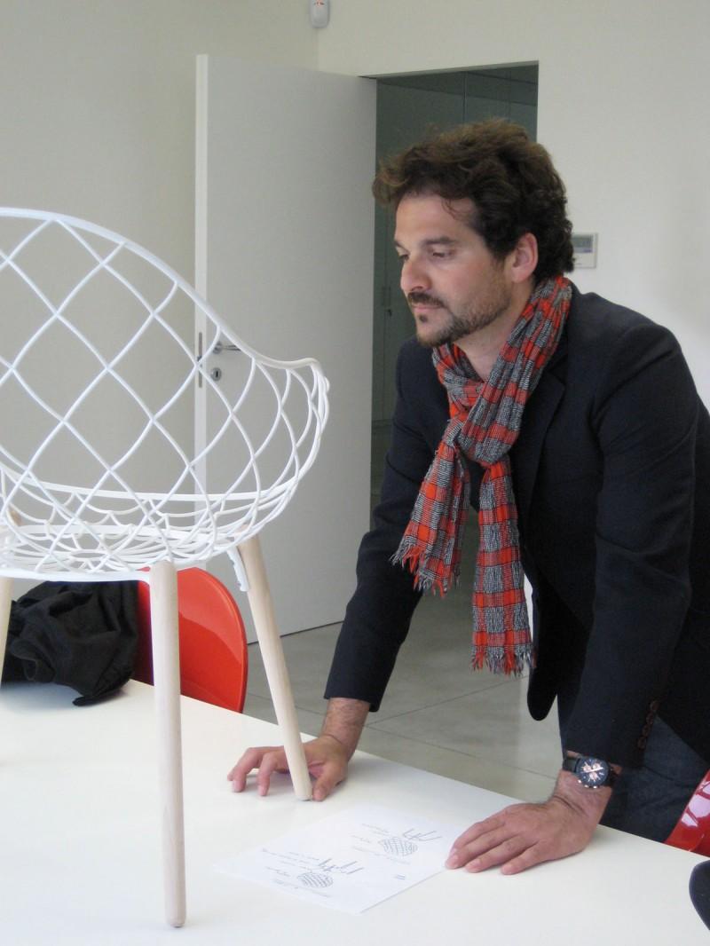 Piña Chair Magis prototype 1