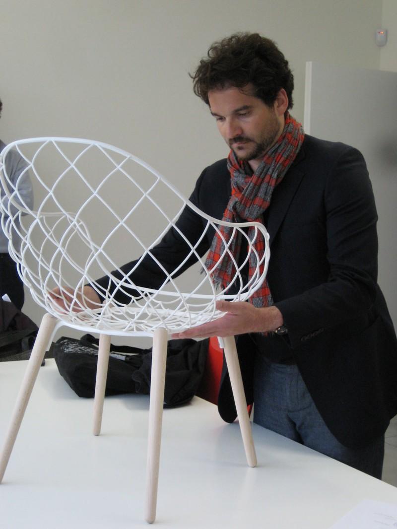 Piña Chair Magis prototype