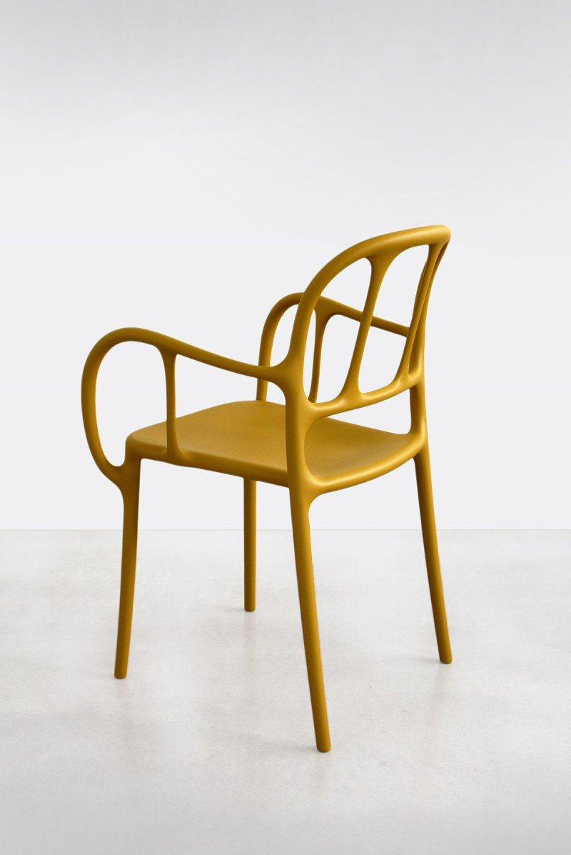 Milà Chair Mustard