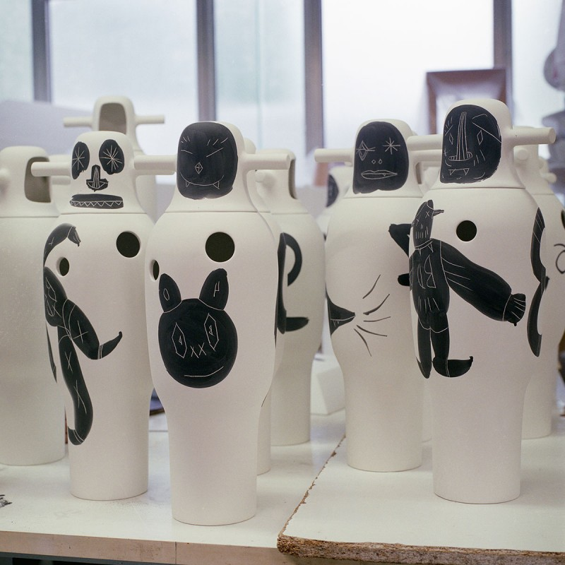 40 anniversary vases for BD