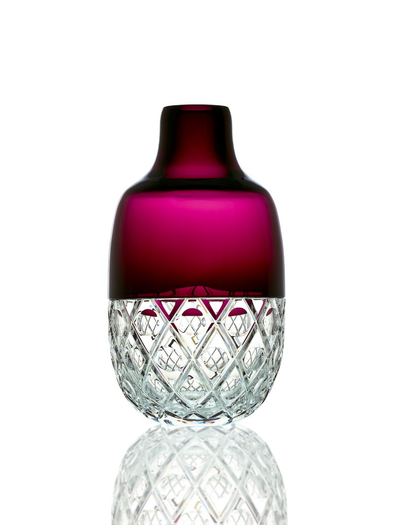 Blackberry Freeze, Crystal Candy Set Baccarat