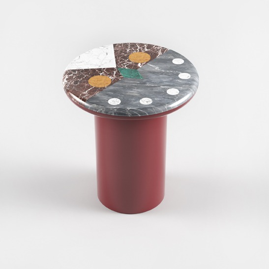 Niko Niko red side table