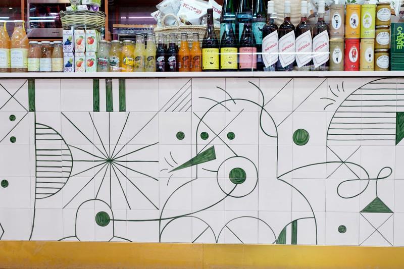 Uno, Central Market, Valencia.