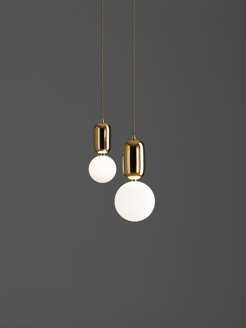 Aballs Ceiling Lamps Gold