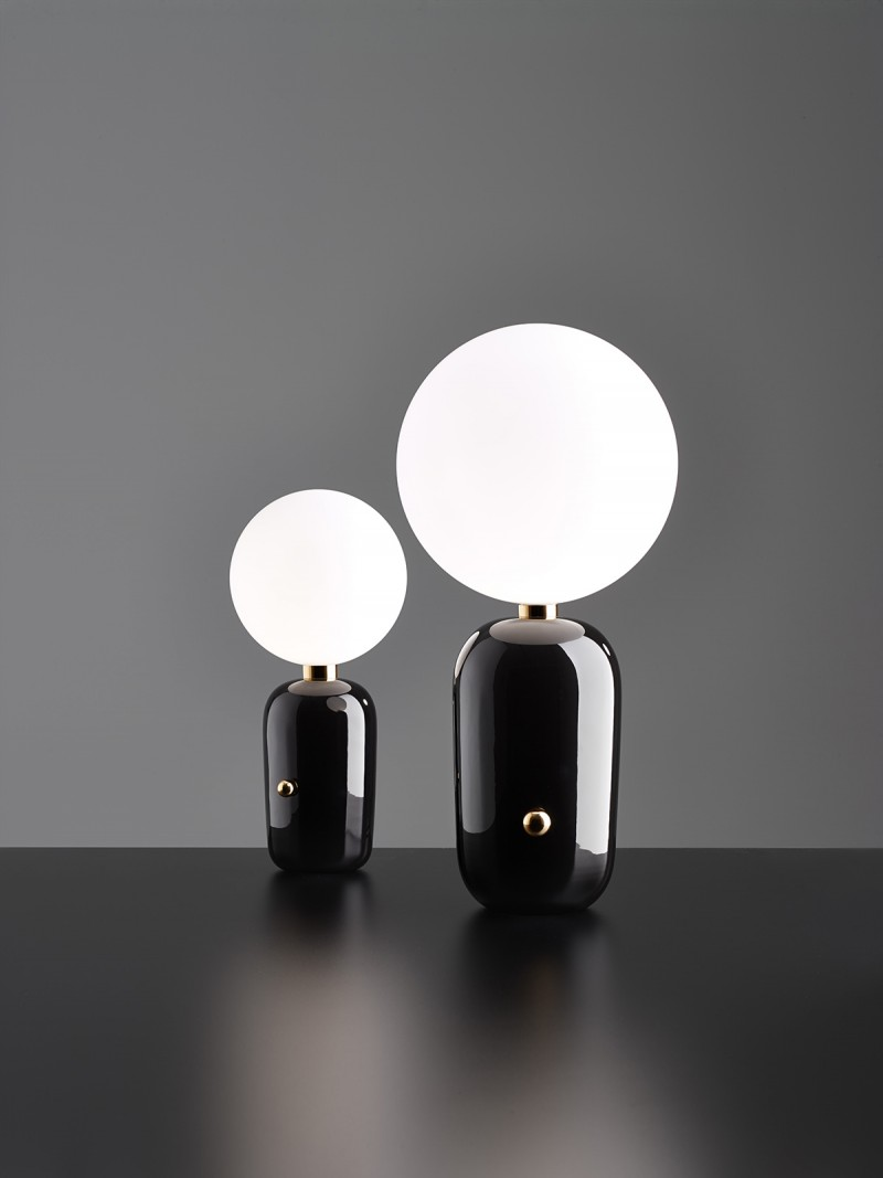 Aballs Table Lamps Black
