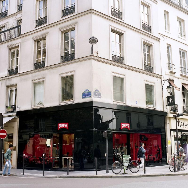 Camper Store, Paris.