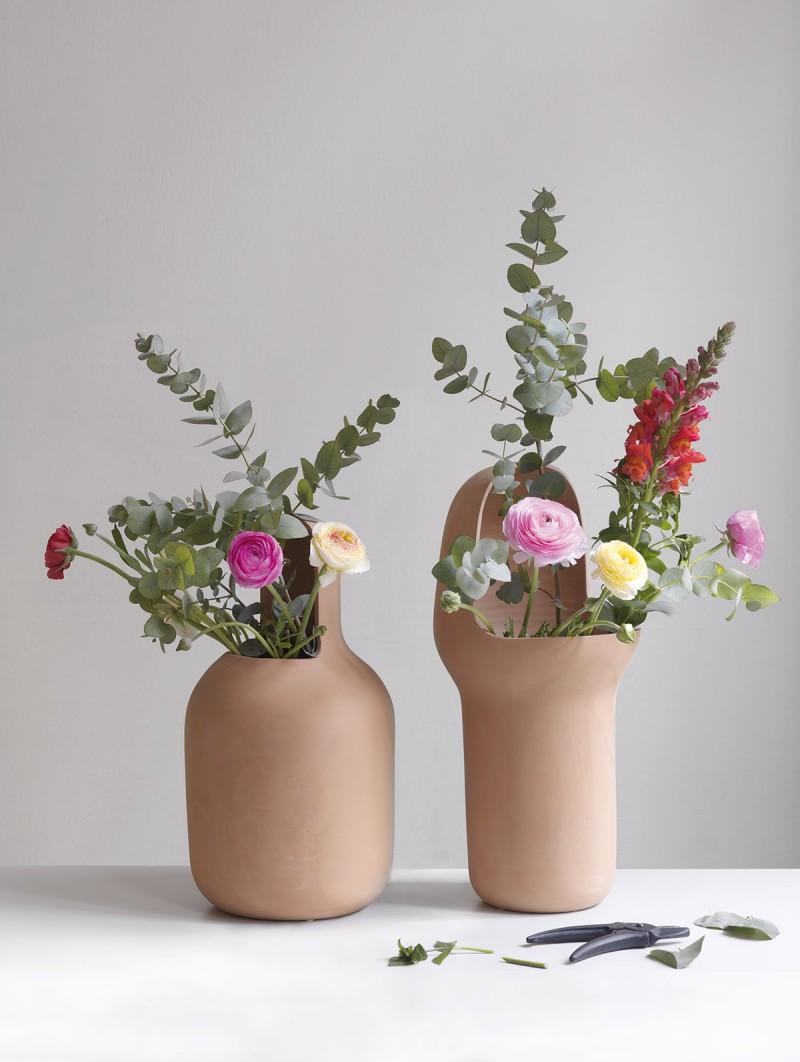 Gardenias Terracota Vases