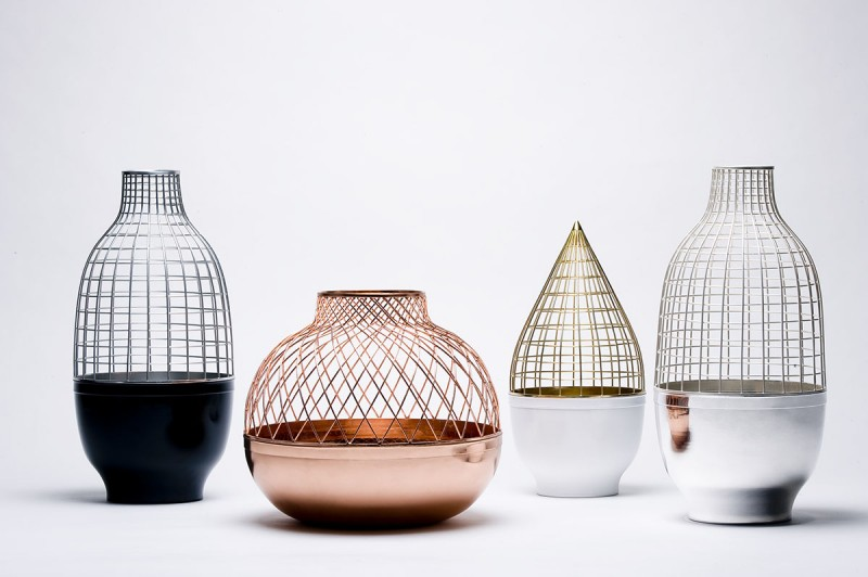 Grid Vase Collection Gaia & Gino