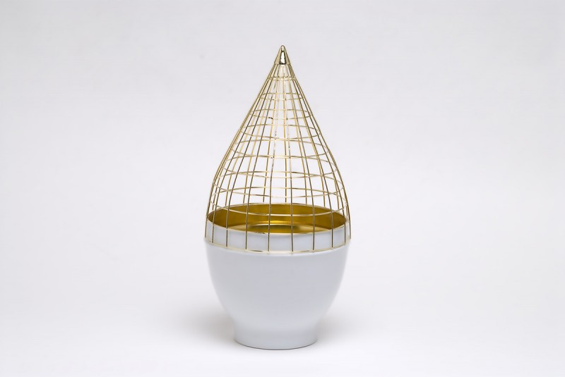 Grid Vase Gaia & Gino