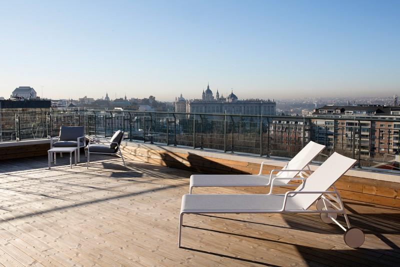 Hotel Barceló Torre de Madrid - Suite Terrace