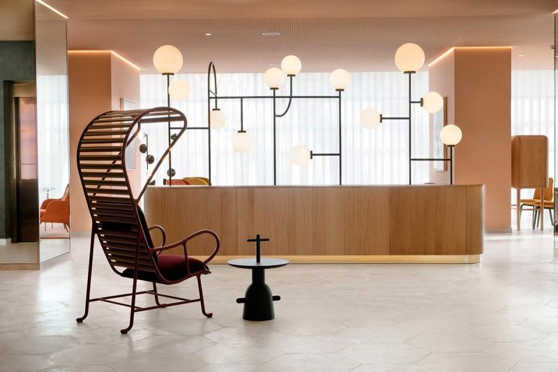 Hotel Barceló Torre de Madrid - Reception Area