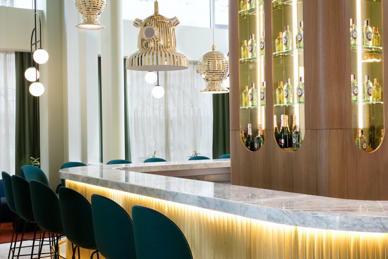 Hotel Barceló Torre de Madrid - Lobby Bar