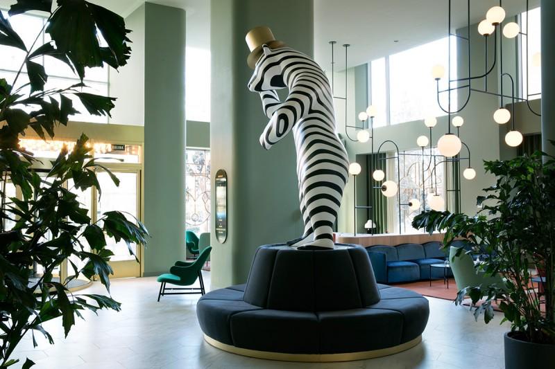 Hotel Barceló Torre de Madrid - Lobby