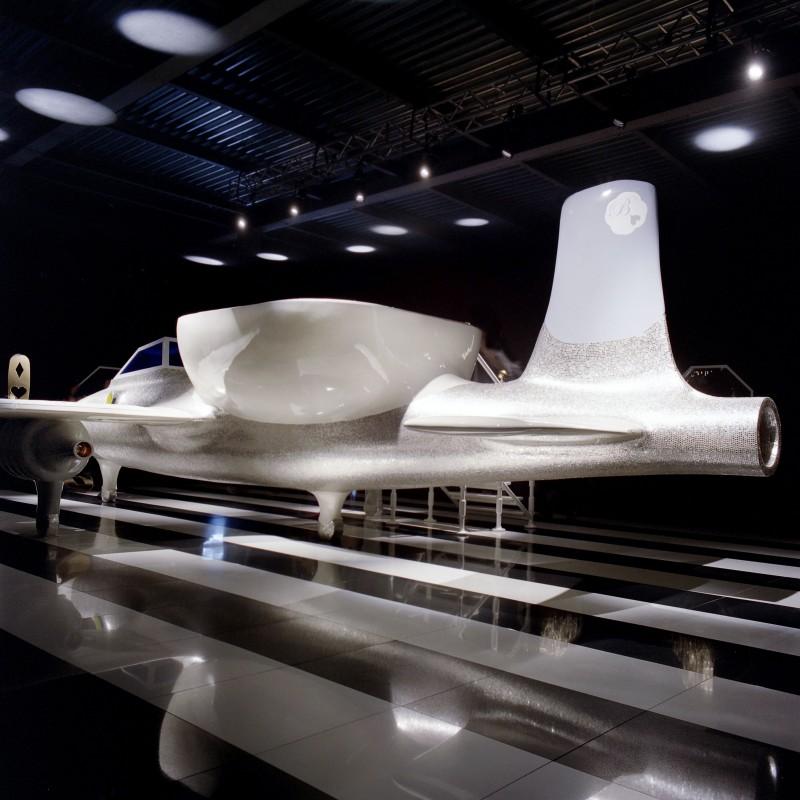 Jet Set Installation for Bisazza.