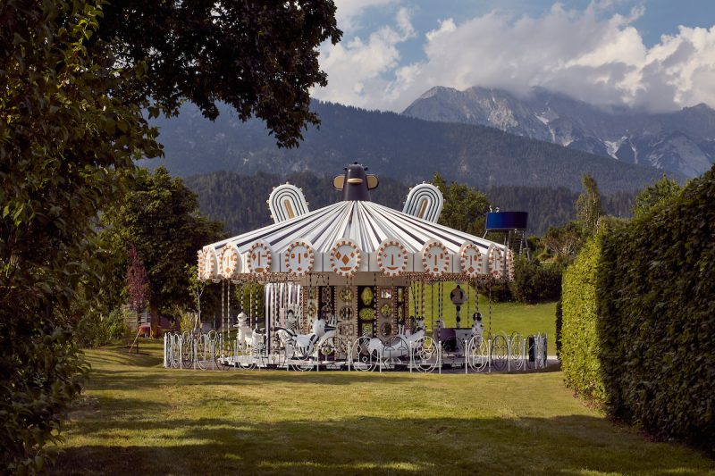 Carousel Swarovski Kristallwelten