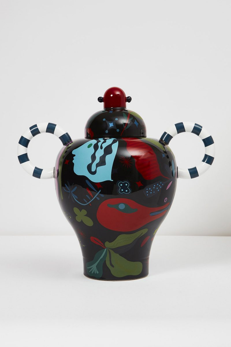 Graphnight Vase