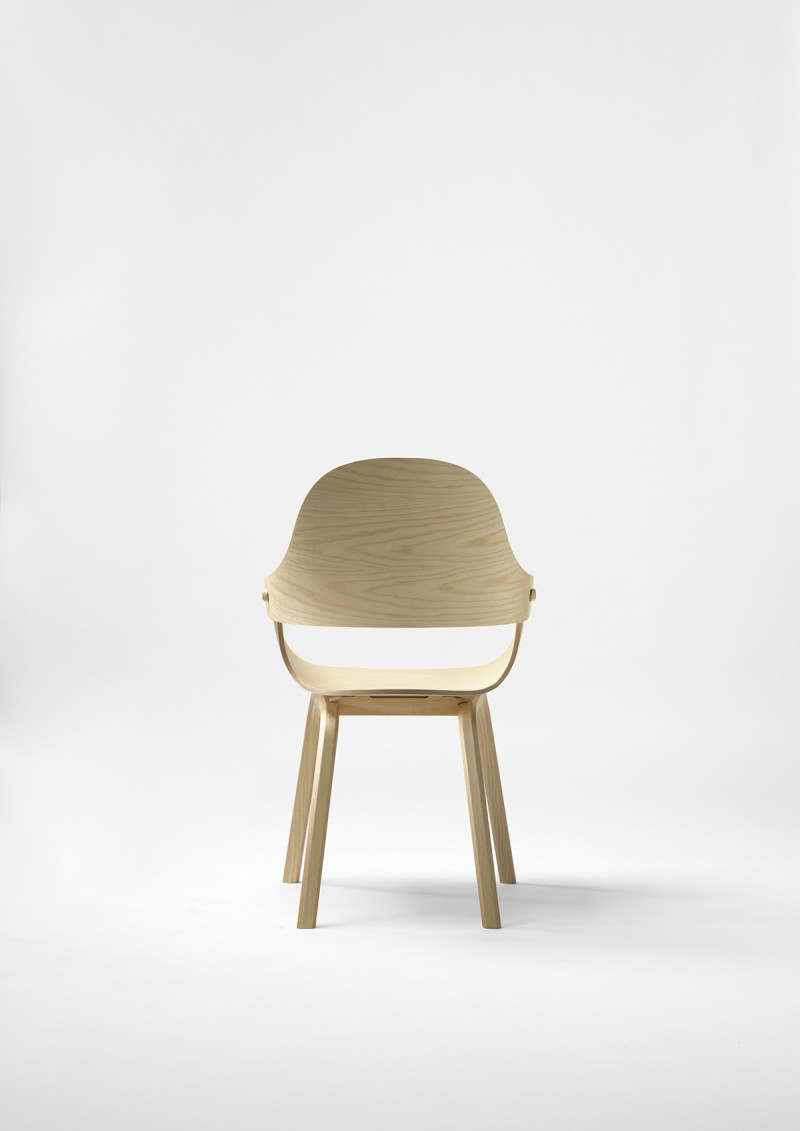 Showtime Nude Chair for BD Barcelona