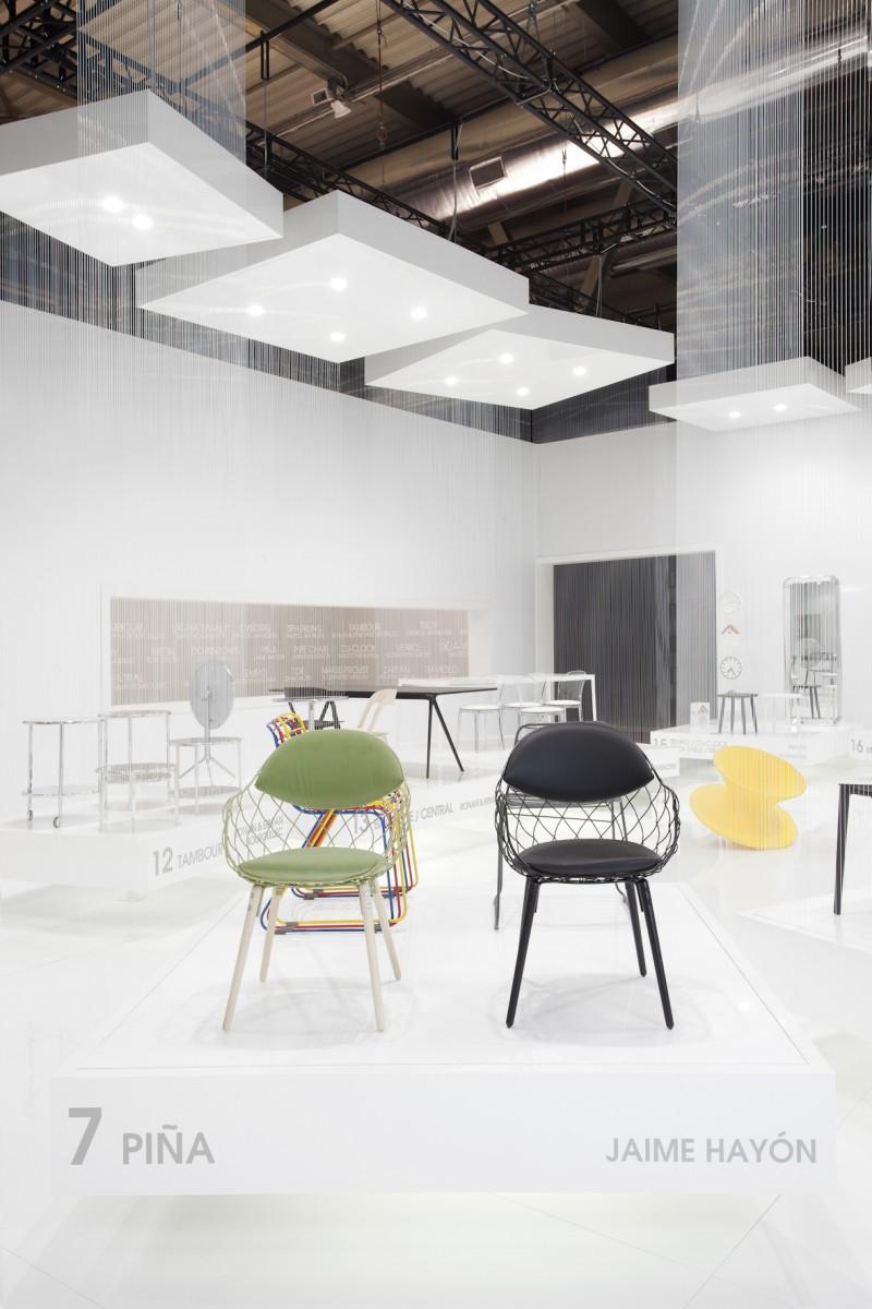 Piña Chair Stand, Magis, Salone Milano