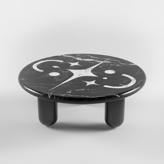 Hymy black coffee table