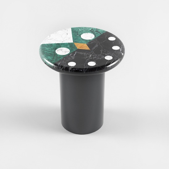 Niko Niko green side table