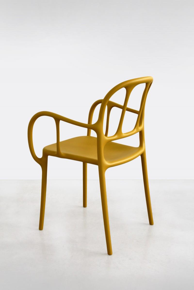 Milà Chair Mustard