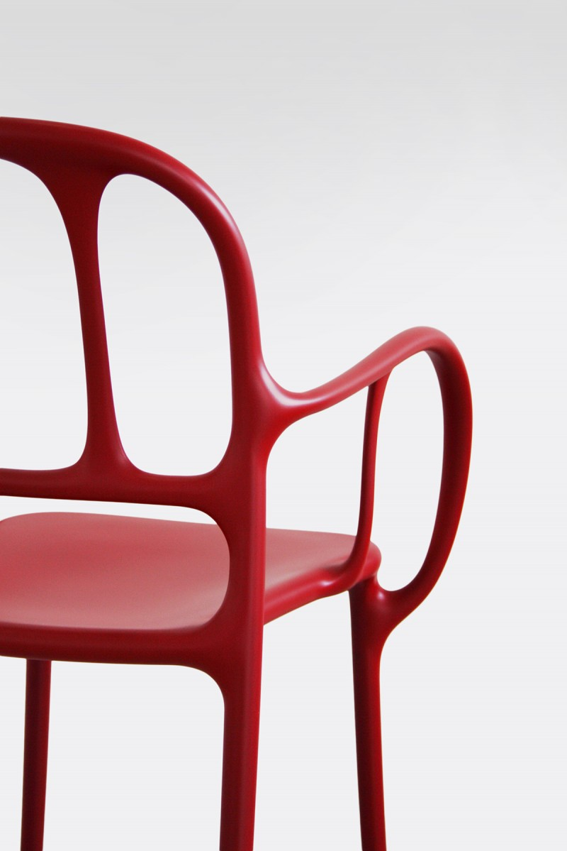 Milà Chair Red