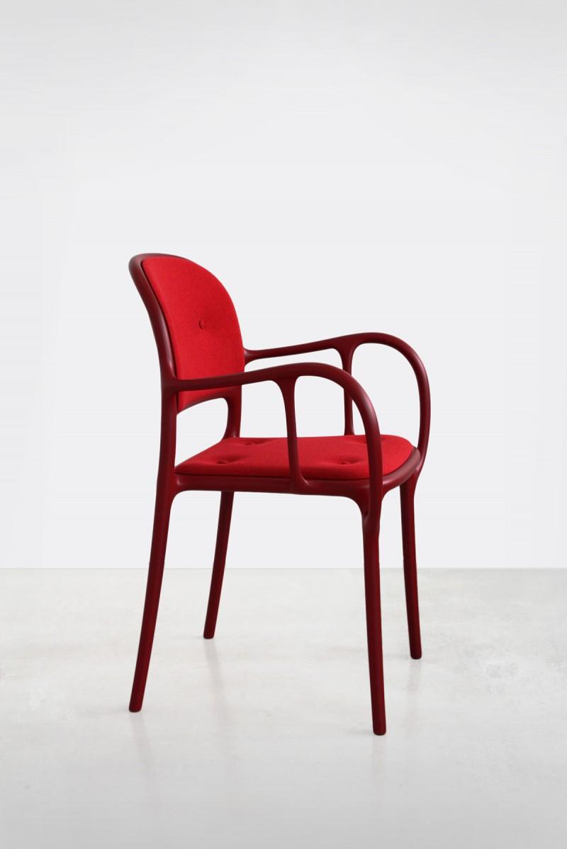 Milà Chair Red Cushion