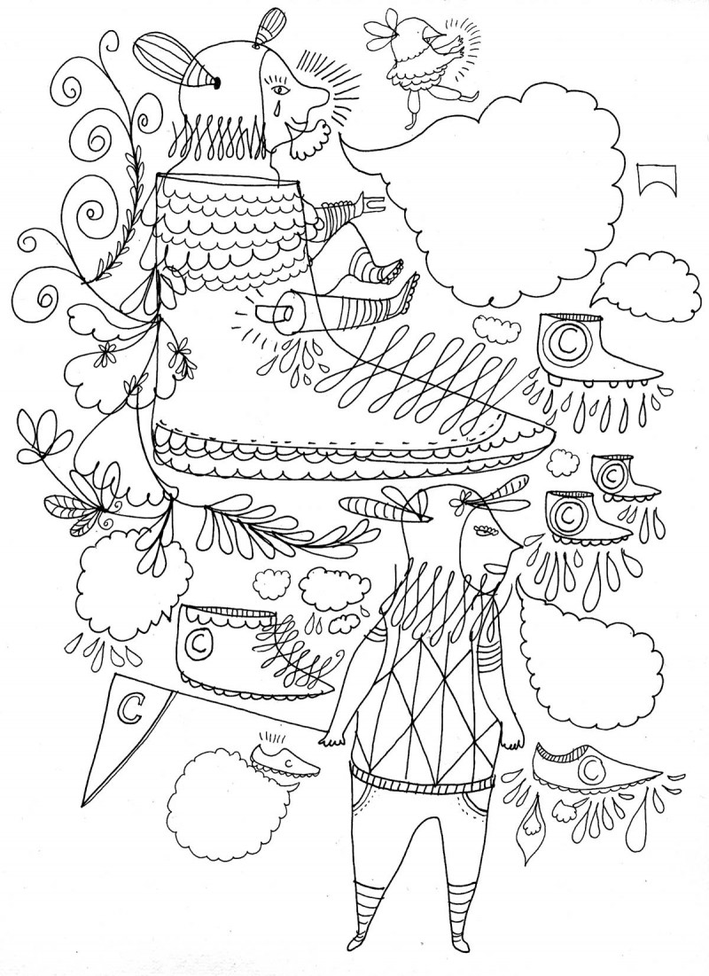Camper store, drawings.